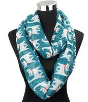 Wholesale Cotton Circle Scarf - 2015 New Fashion Colorful Cat Infinity Scarfs Women Animal Scarfs Fashion Cut Scarves Shawls Circle scarves loop scarfs