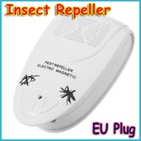 Gros-3pcs / lot Bug ultrasons électronique Pest Souris Mosquito Insect Repeller Electro Magnetic