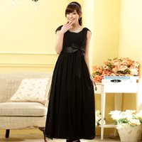 Wholesale Dinner Long Section Dress - 2015 New European And American Dinner Date Cover Longer Section Shoulder Thin Waist Dress Foreign Sources