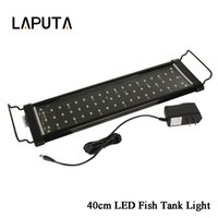 1pcs 2 modos mais novos levou a luz da lâmpada do aquário para recife Coral Fish Tank Aquarium Light White / Blue 30cm 40cm 60cm 90cm Led Grow Light