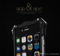 Thor Aluminium Heavy Metal Phone Case para iPhone 6 Plus / 6s P Hard Skin Back Cover