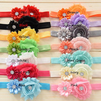 Wholesale Girl Headbands For Sale - 2015 NEW Baby Hairband Hairband For Infant Kids Headband Hair Accessories Hair Band Girls Kids Headband Toddler Hair factory sale 14 color