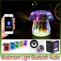 Fungo LED luce Luci colorate wireless Bluetooth Speaker Phone Scheda computer portatile Piccolo subwoofer stereo FL-18