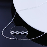 Wholesale Wholesale Sterling Silver Crosses - 925 sterling silver cross necklace Ms. O word chain Korea Korean jewelry wholesale wholesale valentine star with money to send his girlfrien