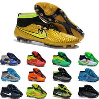 Wholesale 2017 New Magista Obra FG Men Soccer Shoes Cleats Cheap High Quality Magista Obra FG Football Boots Shoes Cleats Eur