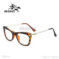 Wholesale Gimmax Fashion - Gimmax butterfly big box glasses frame fashion personality women's plain mirror myopia eyeglasses frame