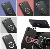 Wholesale Iface Cases For Iphone - New Iface Serise Cellphone Case For iphone X iphone 8 8 Plus Magnetic Car Ring Holder For Samsung S8 S7edge TPU Phone Case