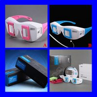 2016 True Magic 3D Shadow con II Stereo 3D Glasses PC TV Proyector Soporte 3D Gafas Miopía Sobre el formato