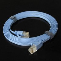 5m 16 FT RJ45 Cat6 flaches Ethernet Flecken Netz Lan Kommunikationskabel 5m C1039 10pcs Los DHL freeship
