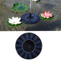 Wholesale plastic park for sale - Group buy New Design Solar Water Fountain Solar Garden Fountain Artificial Outdoor Fountain For Home Family Garden Park Decoration