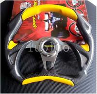 grande corrida venda por atacado-Modificado carro volante de 14 polegadas imitação de PVC personalizado modelos de roda de corrida Geely Charade Big Dipper