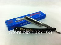 Wholesale Gold Dollar Razors - Wholesale-Free Shipping Economic Grade High Quality Carbon Steel Polished Stright Shaving Cut Throat Razor Barber GOLD DOLLAR