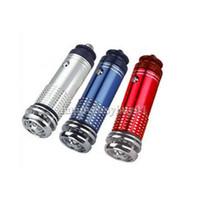 Wholesale Wholesale Air Bar - Practical Mini Car Auto Fresh Freshener Air Purifier Oxygen Bar Ionizer H1E1