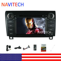 Wholesale Toyota Dash Navigation System - toyota tundra sequioa car dvd radio navigation system stereo 2 din car dvd player gps bluetooth audio free gps map card