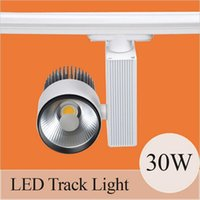 Light Beam Switch Online Wholesale Distributors, Light Beam Switch ...:Integrate 30W LED Track Light 90-100LM W High Quality COB Spotlights 24 beam  angle AC85-265V with CE RoHS certificate For Clothing Stores,Lighting