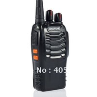 Wholesale-4pcs / lot Portable Two-Way Radio BAOFENG BF-888S UHF Freq 400-470MHz FM Transceiver BF888S