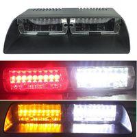 Wholesale Viper Led Lights - S2 Viper Federal Signal 16pcs High Power Led Car Strobe Lamp Auto Warn Light Police Light LED Emergency Lights 12V Car Front Light Car Lamp
