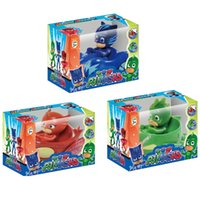Pjmasks 3 veículos móveis Bundle Cat Car, Owl Glider e Gekko Mobile By Figure Figure Figura