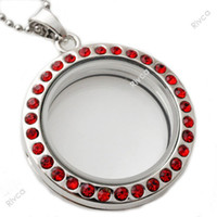 Wholesale Metal Charms Free Shipping - J00107 Free Shipping wholesale 2015 newest design metal Round magnetic glass floating charm locket with stainless steel chain