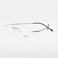 Wholesale Optical Frames Titanium For Woman - Wholesale-rimless titanium glasses non-screw silhouette titanium eyeglasses glasses high quality optical frame for man or women e1051