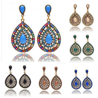 Barato Barato Bem-Bohemia Earrings Summer Style Fashion 2015 Brincos de pérolas finas Bead para mulheres Cheap Fashion Crystal Jewelry