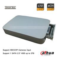 "Wholesale Dahua Dvr 4ch - Dahua 4CH 720P-Pro Realtime Smart Box HD-CVI IP Hybrid DVR 1 SATA 2.5"" 2TB"