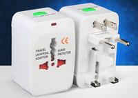 Wholesale world universal travel adapter usb resale online - Best USB Ports World Travel AC Power Charger Adaptor with AU US UK EU converter Plug Universal International Plug Adapter