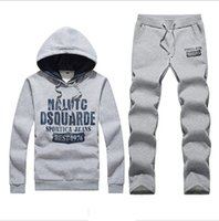 Wholesale Tracksuit Mens Colors - Wholesale-Velour Tracksuits Men 2015 New Moleton Masculino Cotton High Quality Outdoor Mens Tracksuit Set Brand 4 Colors Free Shipping