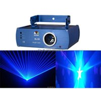 Wholesale S3 Laser - new cool 300mw blue Laser line scanner DMX512 show system Lighting DJ Party KTV DANCE CLUB Disco Stage Light show SYSTEM s3