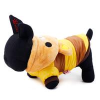 bandanas do cão do inverno da queda venda por atacado-Atacado-Petcircle mel café de soja Urso roupa do animal de estimação pequeno cão casaco caro queda e roupas de inverno Bichon Bin Taidi