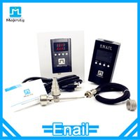 Wholesale Dhgate Designs - Patent design enail temperature box   vaporizer enail   Majesty Enail DHgate Enail coil heater portable enail oil rigs