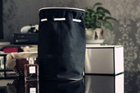 Wholesale A4 Sizes - Luxury Makeup Storage Case - C VIP Black Drawstring Bucket Cosmetic Travel Vip Gift A4 paper size