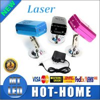 Wholesale Mini Red Blue Moving - Black  blue pink Mini Red & Green Led Moving Party Laser Stage Light laser DJ party Twinkle 110-240V 50-60Hz With fixing device