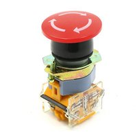 1NO 1NC 4 bornes à vis Red Mushroom Cap urgence piste afin Push Button Switch $ de 18Personne