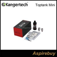Wholesale steel kanger resale online - Original Kanger Toptank Mini Clearomizer ml Tank ohm Support RBA mini plus Stainless Steel Glass mm E Cigarette Atomzier