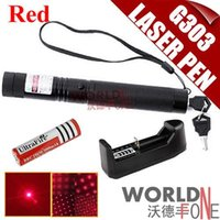 Wholesale Star Battery Charger - Multifunctional 5mw Red Laser Pointer Pen Burn Match Power Light Star Pattern Filter + 18650 Battery + Charger FREE SHIPPING! (WF-G303)