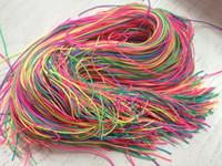 Wholesale Kendamas Free Shipping - Free shipping For the colorful extra strings Kendama Holder Kendamas rainbow rope pendant Suitable for Kendama size: 18.5 CM