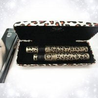 Wholesale Love Alpha Double - 2015 New Waterproof LOVE ALPHA Double Brand Mascara with Panther Leopard Case 1 Set= 2 PCS Mascaras