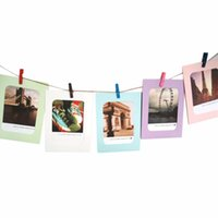 Fashion Frame 7 Pz / set FAI DA TE Home Party Decor 6 Pollice FAI DA TE Appeso A Parete di Carta Photo Frame Parete Album Colore Casuale