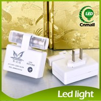 2015 Light Control Lampes de nuit Led Sensor Light Indoor Night Lights Blanc chaud / blanc Couleur Lumières de sommeil bébé Éclairage LED