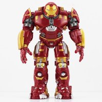 Wholesale Ironman Action Figures - NEW The Avengers 2 Hulkbuster IronMan Hulkbuster PVC Action Figure Collectable Model Toy Brinquedos 14cm free shipping