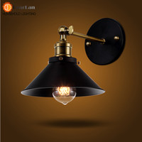 Wholesale Bedside Wall Lamp For Ship - Wholesale-American Vintage Wall Lamp Indoor Lighting Bedside Lamps Wall Lights For Home Free Shipping(BG-60)