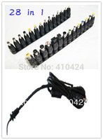 Wholesale plug for notebook for sale - Group buy Universal AC DC Jack Charger Connector Plug for Laptop Notebook AC DC Power Adapter with Cable order lt no track
