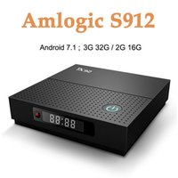 Wholesale s912 tv box for sale - Group buy TX92 GB GB Android Smart TV Box Amlogic S912 Set Top Box G G Wifi HD Media Player