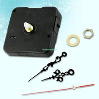 Wholesale Quartz Clock Motors - EN1558 5X QUARTZ CLOCK MOVEMENT MOTOR SPINDLE DIY REPAIR PARTS TOOLS KITS