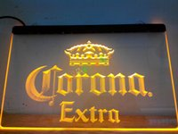 Wholesale Bar Advertising Lighting - LE013-y Corona Extra Beer Bar Pub Cafe Neon Light Signs. Advertising. led panel led sign.