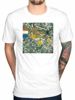 2017 Fashion The Stone Roses Cover originale per album T Shirt realizzata in pietra Love Spreads Design T Shirt Cool Summer Tops