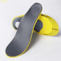 preenchimento de palmilha para sapatos venda por atacado-Palmilha ortopédica para sapatas do cuidado do pé das sapatas para a dor do pé aliviar o aumento da altura Palmilhas ortopédicas confortáveis para mulheres dos homens