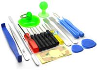 ipad iphone reparación al por mayor-Kit de herramientas de reparación de teléfonos móviles de alta calidad 21 en 1 JUEGO DE DESTORNILLADOR PARA iPHONE IPOD IPAD NOKIA