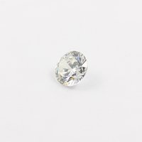 Wholesale Diamond Cut Machine - 10pcs lot Free shipping 3mm-7.5mm Cubic zirconia Machine Cut simulated diamond round loose CZ stones